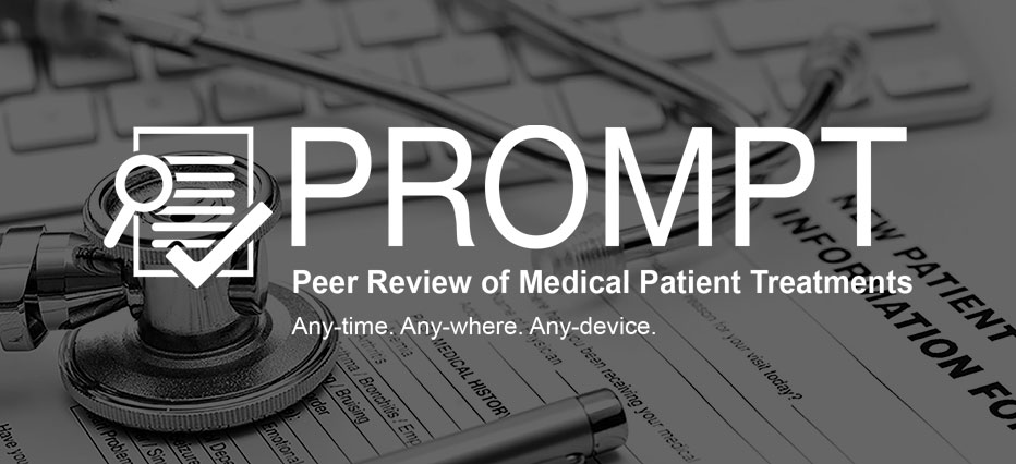 PROMPT: Peer Review of Medical Patient Treatments